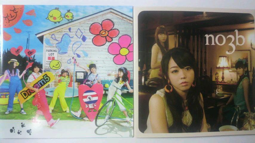 購入CD(Dream5,<br />  ノースリーブス)